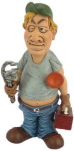 Plumber Figurine